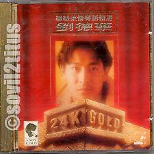 CD 1992 Andy Lau 24K Gold暖暖柔情 粤语精選 劉德華  #3916