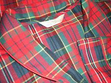 Marks and Spencer Long Plaid Robe Unisex US 14-16 UK 16-18