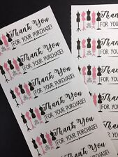 50 Fashion - Thank You Stickers