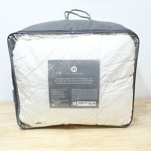 Hotel Collection KING White Down Comforter 400 TC Medium Weight D0Z089