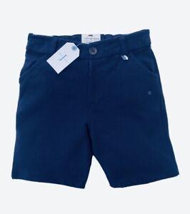 Boys JASPER CONRAN Shorts Designer Debenhams Navy Cotton Smart Casual Knee BNWT