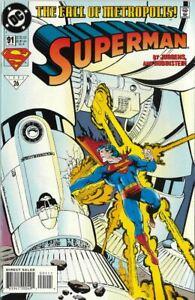 DC Superman 91   1994   Battle for Metropolis