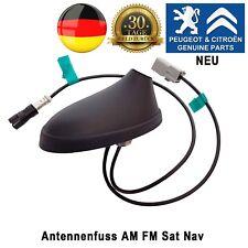 Peugeot 207 307 308 Antenne Antennenfuss AM FM Sat Navigation Neu Original