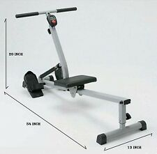 Rowing Machine Rower Trainer Abs Legs Arms Back Workout Full Body Gym New In Box