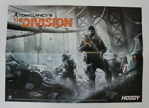 """2016 TOM CLANCY THE DIVISION + DOOM Double-Sided Poster 54 cm. (21.25"""")"""