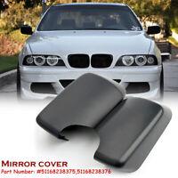 2x Rückspiegel Spiegelkappe Gehäuse Schwarz Für BMW E46 E39 5er 51168238375 / 6