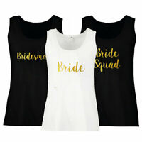 Hen Party Vest Tank Top Hen Do Bride To Be Tribe Squad Team Custom Personalised