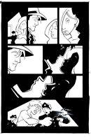 Decoy Menagerie GN Page 14 Original Art - Sean Galloway & James Taylor