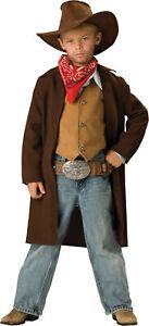 Rawhide Renegade Cowboy Western Child Boys Costume NEW