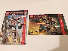 Lego Exoforce Instructions / Directions - Lego 7700 & 7711 - Exo Force Manuals