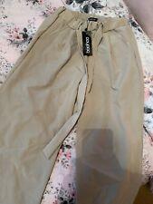 BNWT Boohoo Mocha / Beige Culotte Trousers Size 10 💖