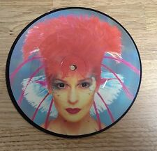 45 tours picture-disc TOYAH Brave new world / Warrior rock 1982 EXC