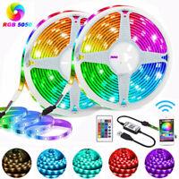 LED Stripe RGB Leiste Streifen 5050SMD Band Dimmbar Lichterkette WIFI Controller