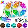 LED Stripe RGB Leiste Streifen 5050SMD Band Dimmbar Lichterkette Fernsteuerbar