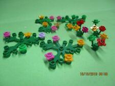 50x LEGO Bulk Green Ferns Shrubs Plants for Forest Gardens