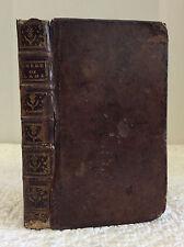 EXERCICES DE L'AME-By Denis Xavier Clement, 1751, Rare, Catholic, sacraments