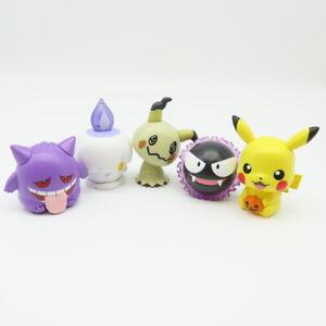 Pokemon Capchara vol.10 Gashapon figure Mimikyu Gengar Litwick Gastly BANDAI