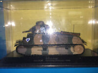 "DIE CAST ""SOMUA S-35 QUESNOY (FRANCE) - 1940"" MEZZI MILITARI SCALA 1/43"