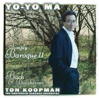 YO-YO MA - SIMPLY BAROQUE II  CD NEW