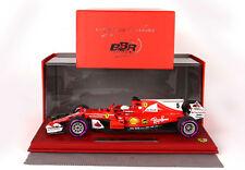 Ferrari Sf70-h G.p. Montecarlo 2017 Winner Vettel - Start Race 1/18 Bbr1875msr