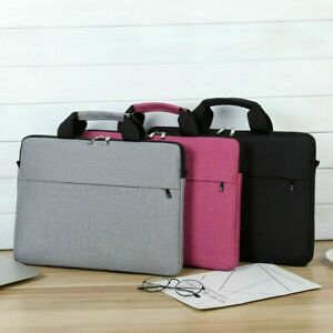 Laptop bag Sleeve Case Shoulder Briefcases For 15.6 17 inch Macbook Air Pro HP