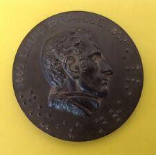 Médaille Louis Braille