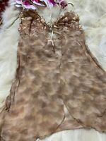 Luna beige Camisole Top sleepwear nightwear size it3b us34b eu75b