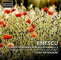 Josu de Solaun - Enescu:Comp. Piano Works 2 [Josu de Solaun] [GRAND [CD]