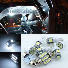 Xenon White LED Interior Light Package Kit For hyundai Azera 2012-2017