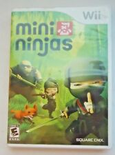 Wii Mini Ninjas Video Game with Instruction Booklet