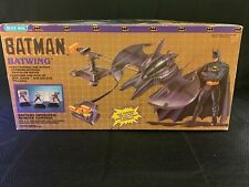"""1989 BATMAN BLUE BOX TOYS """"Batwing"""" Battery Operated Remote Control (RARE!)"""