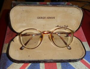 GIORGIO ARMANI  frames, spectacles, glasses very cool, RETRO TORTOISESHELL