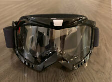 Racing Sports Motocross Motorsport Off-road Paintball Goggles Adult - Black