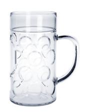 12 St. Maß-Krug 1l - Kunststoff - Glasoptik