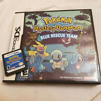 POKEMON mystery dungeon BLUE RESCUE TEAM *GAME plus CASE* AUTHENTIC no manual