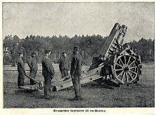 1915 * Deutscher Kruppscher fahrbarer 21cm Mörser * WW1