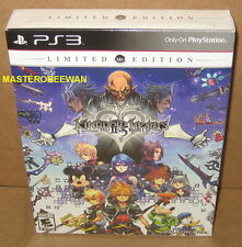 PS3 Kingdom Hearts HD II.5 2.5 ReMIX Limited Edition New Sealed PlayStation 3