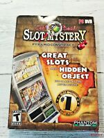 Reel Deal Slots Mystery Pyramid Conspiracy PC DVD Slots Machine Video Game