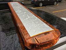 """47"""" 88 LED LIGHT BAR TRAFFIC ADVISOR EMERGENCY BEACON WARN TOW STROBE AMBER CE"""
