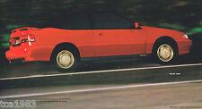1993 HYUNDAI EXCEL / SONATA / SCOUPE / ELANTRA Brochure / Catalog: GLS,LS,Turbo,