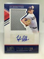 2018 Panini USA Baseball Stars & Stripes Jerseys #26 Tyler Holton Auto Card /199