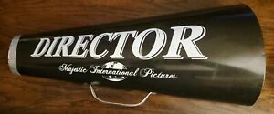 VINTAGE MAJESTIC INTERNATIONAL PICTURES DIRECTOR MEGAPHONE WALL HANG DECORATION