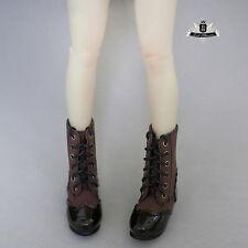 MSD Shoes 1/4 BJD Shoes Supper Dollfie Boots Dollmore Luts AOD DZ High heels 376