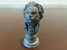 """Exquisite Antique metal Miniature bust-Adell Venus collection 2"""" [Y8-W6-A8]"""