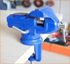 402322 360 Degree Rotating Mini Table Bench Clamp Vice Swivel Base 60MM