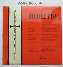 XIG - VERDI - Rigoletto highlights - Excellent Condition LP Record