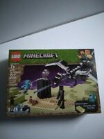 LEGO Minecraft The End Battle 21151, 222 pieces NEW FACTORY SEALED