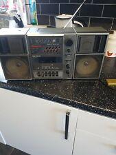 Vintage Sanyo Radio Cassette Recorder  Geto Blaster M9835L