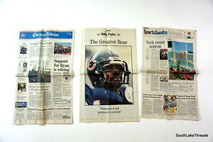 Death Of Walter Payton -Chicago Bears - Football -1999 Chicago Tribune Newspaper