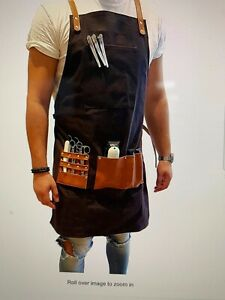 Barber Aprons Barber Pro (chocolate brown)